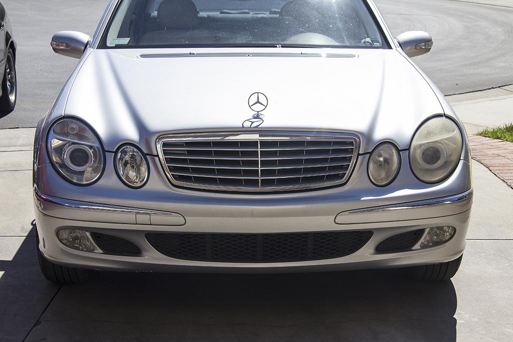 Handz detailed 2003 mercedes benz e320 headlight for Mercedes benz restoration