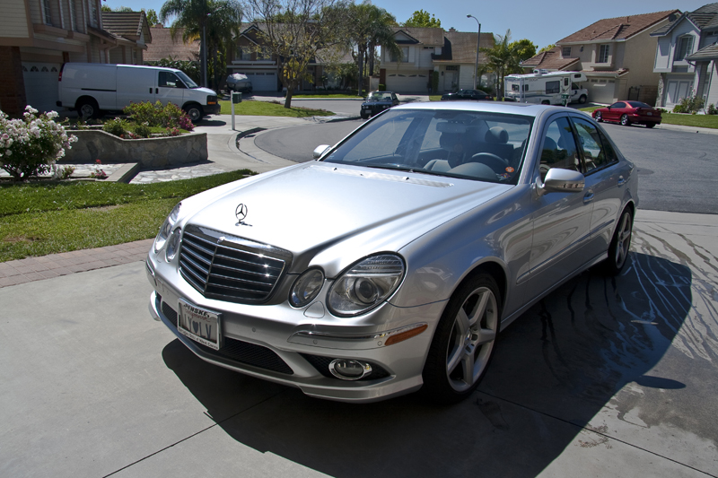 Thread: Handz Detailed: 2009 Mercedes Benz E350 Silver